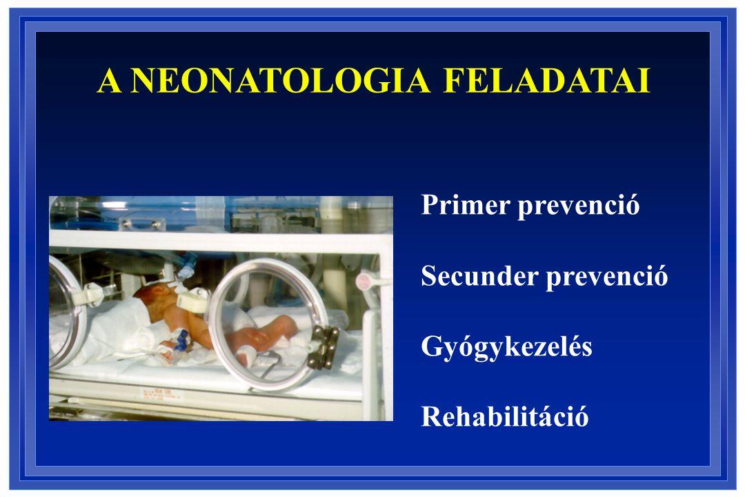 A NEONATOLOGIA FELADATAI