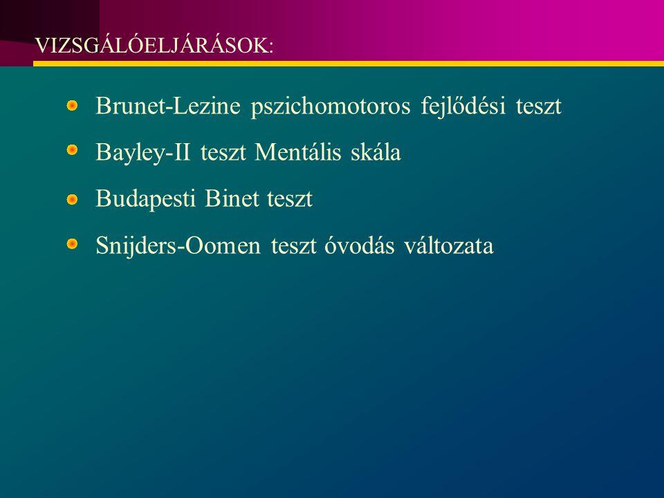 Brunet-Lezine pszichomotoros fejlődési teszt