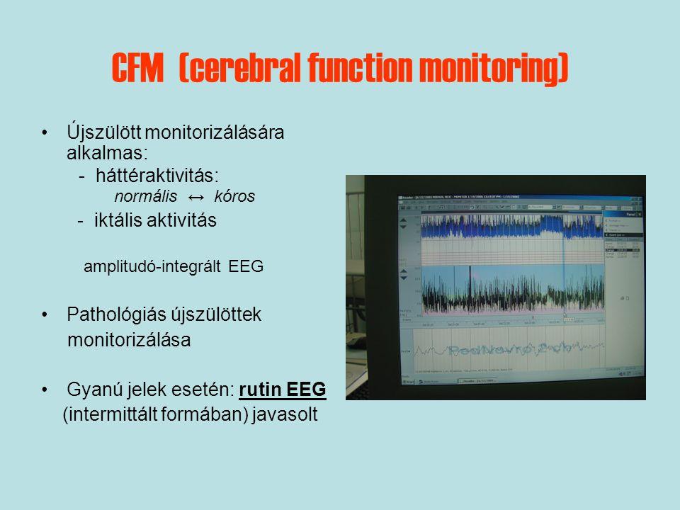 CFM (cerebral function monitoring)