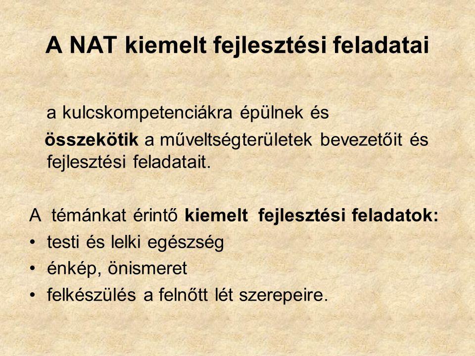 A NAT kiemelt fejlesztési feladatai
