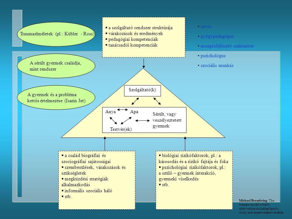 a szolgáltató rendszer struktúrája várakozások és eredmények