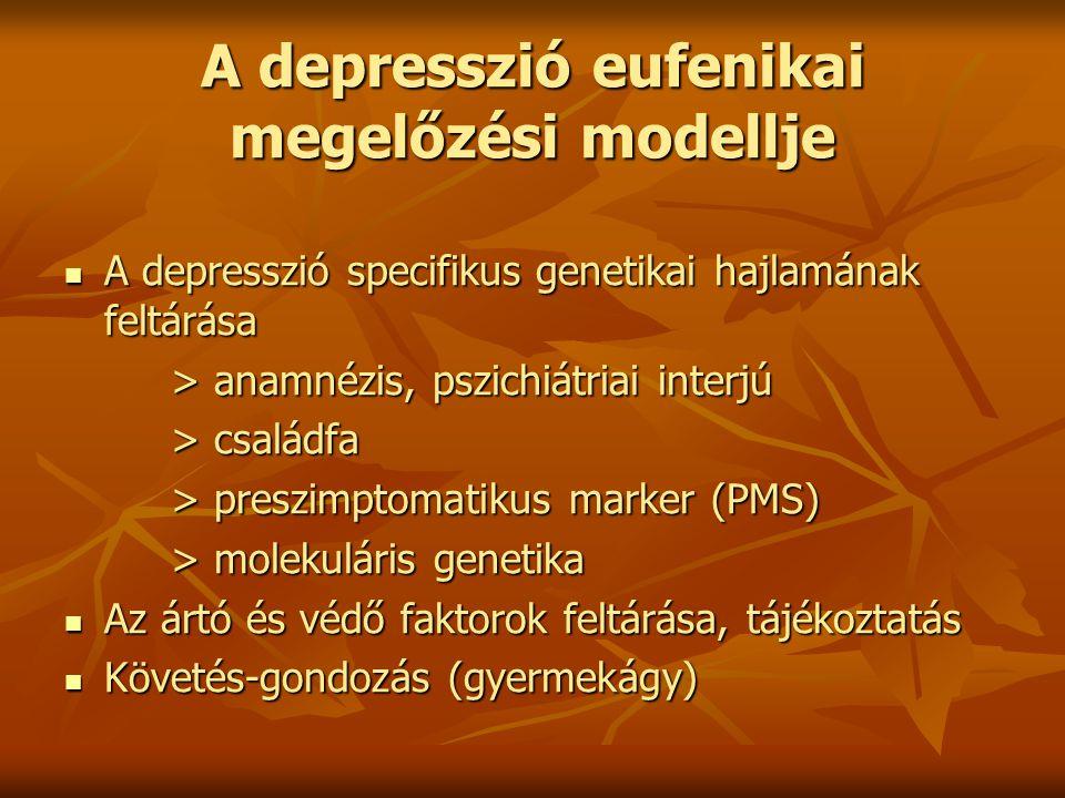 A depresszió eufenikai megelőzési modellje