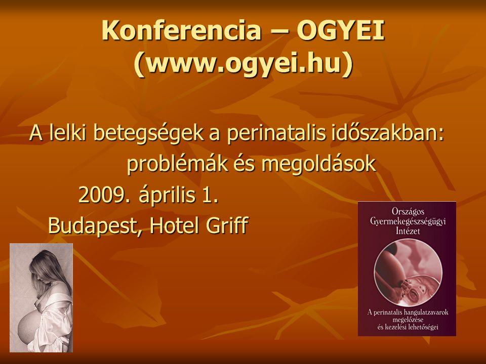 Konferencia – OGYEI (www.ogyei.hu)