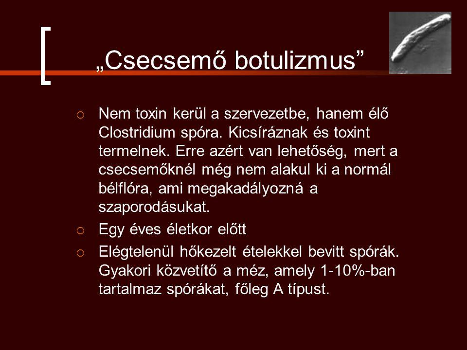 """""""Csecsemő botulizmus"""