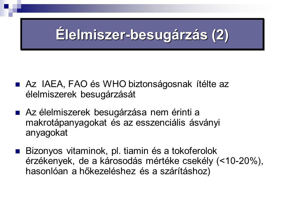 Élelmiszer-besugárzás (2)