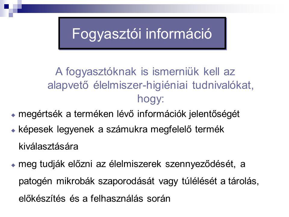 Fogyasztói információ