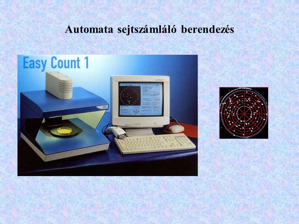 Automata sejtszámláló berendezés
