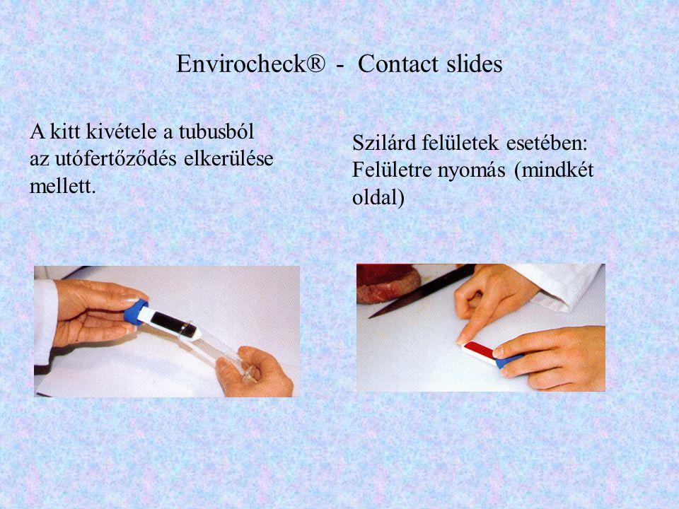 Envirocheck® - Contact slides