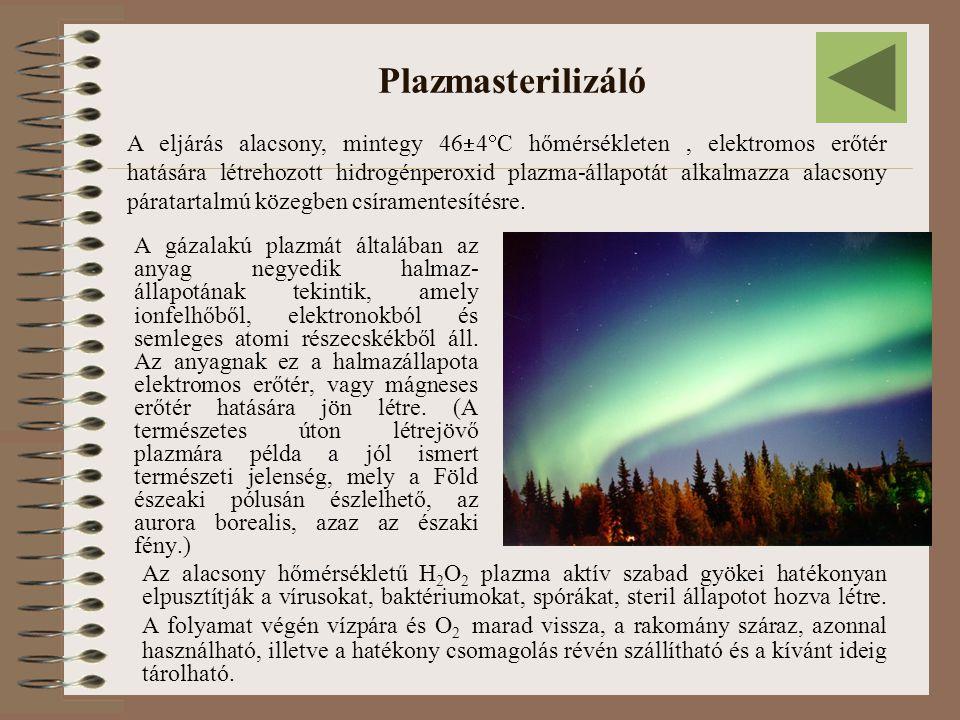 Plazmasterilizáló