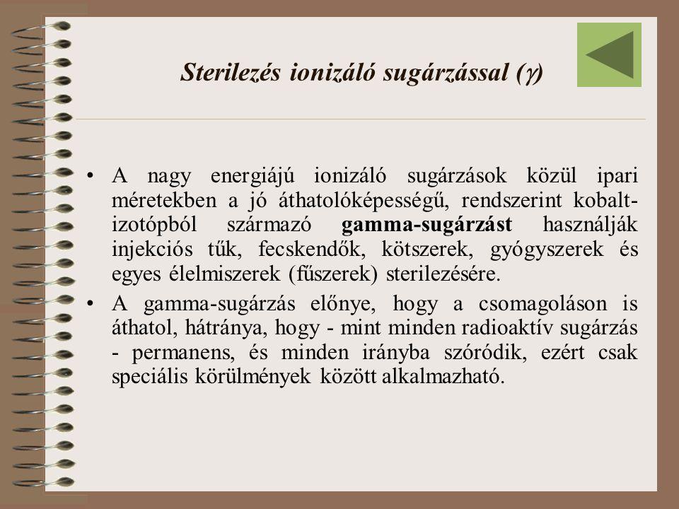 Sterilezés ionizáló sugárzással ()