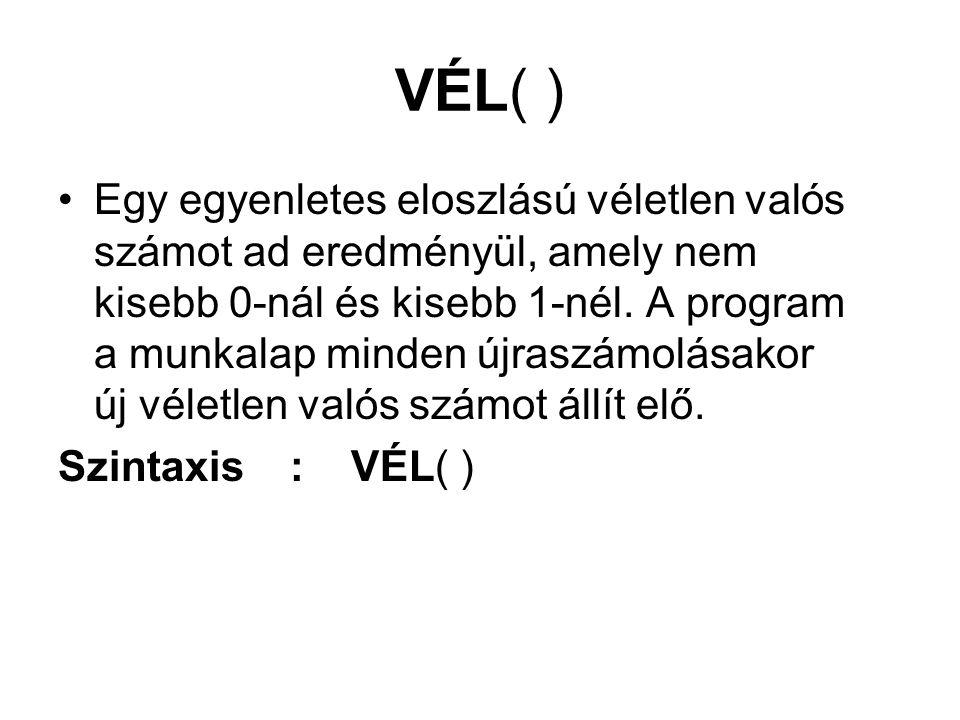 VÉL( )