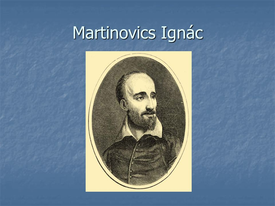Martinovics Ignác