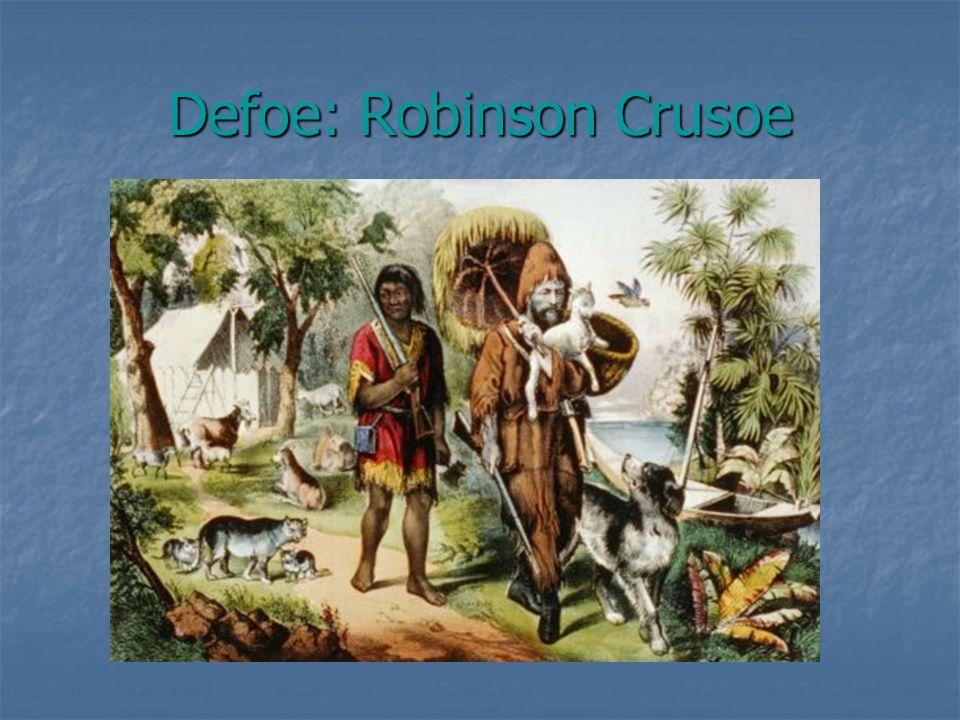 Defoe: Robinson Crusoe