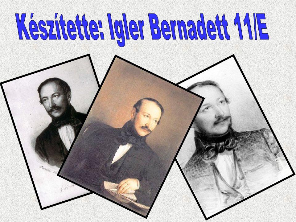 Készítette: Igler Bernadett 11/E
