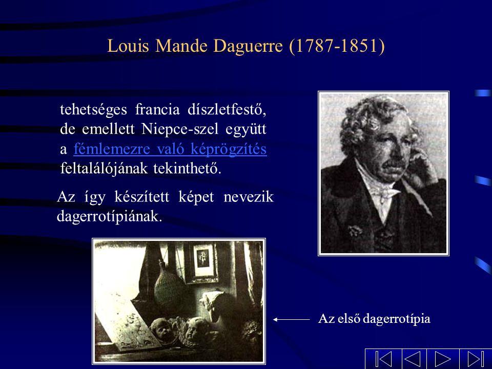 Louis Mande Daguerre (1787-1851)