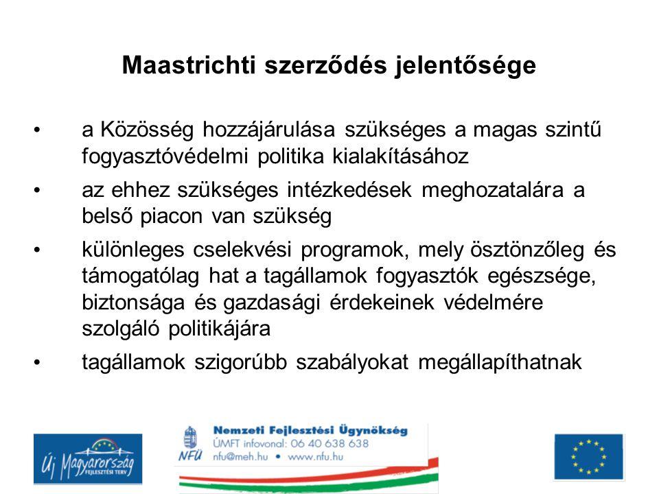 Maastrichti szerződés jelentősége