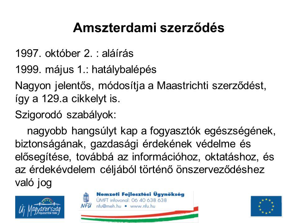 Amszterdami szerződés