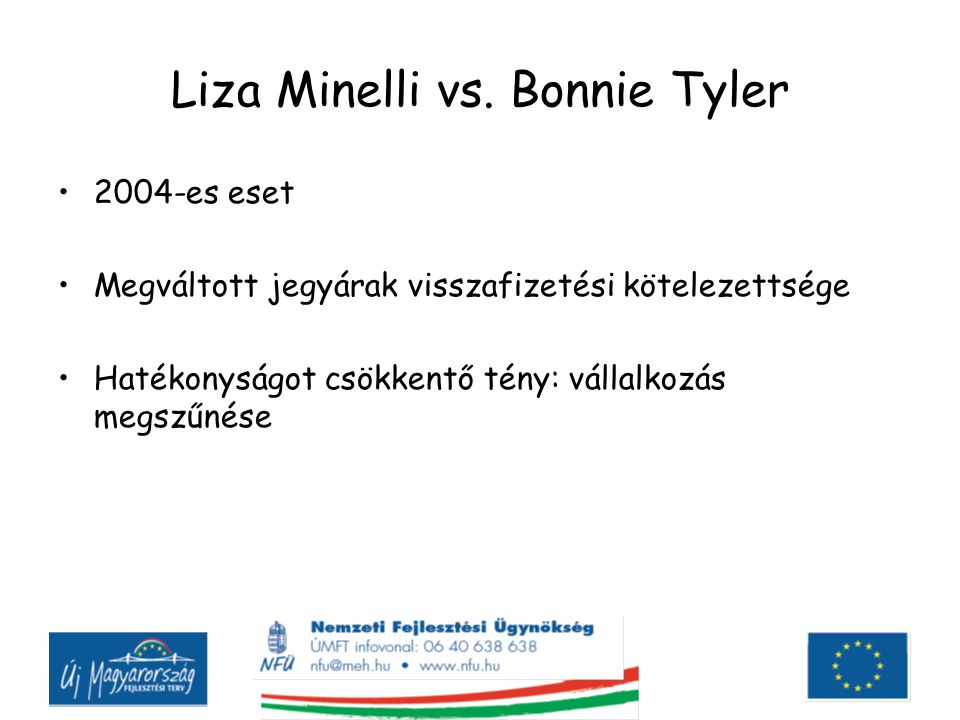 Liza Minelli vs. Bonnie Tyler
