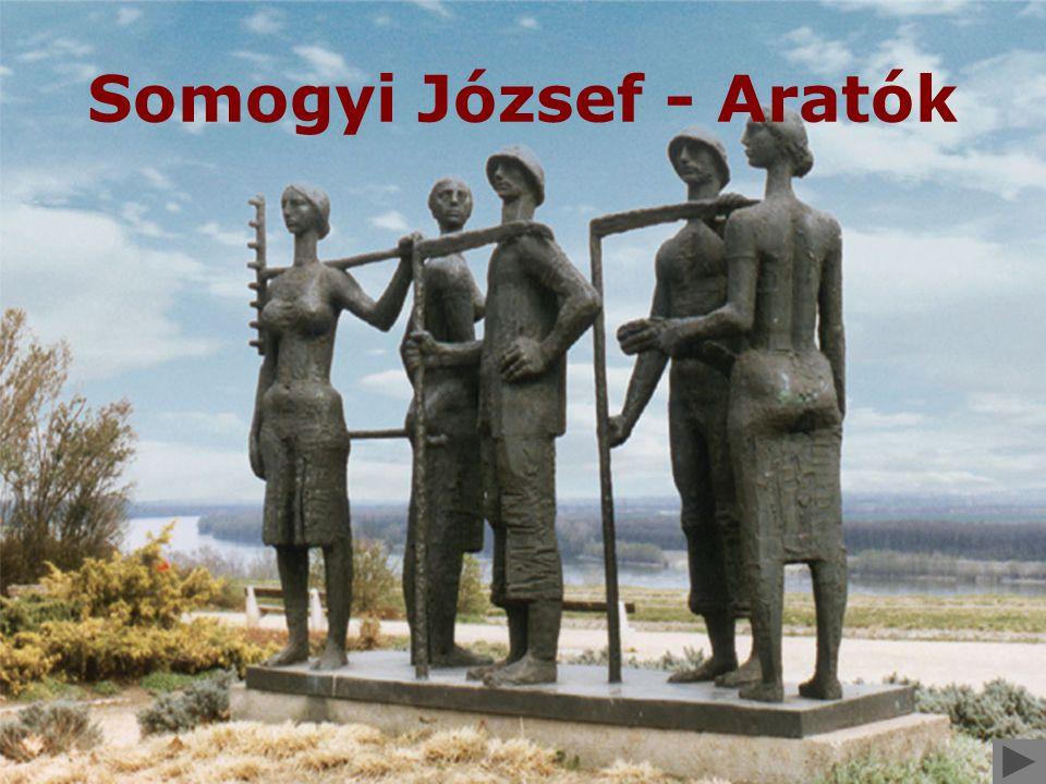 Somogyi József - Aratók
