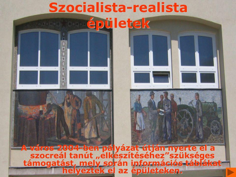 Szocialista-realista épületek