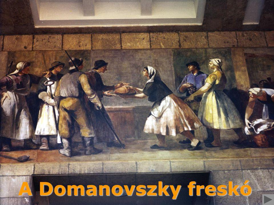 A Domanovszky freskó