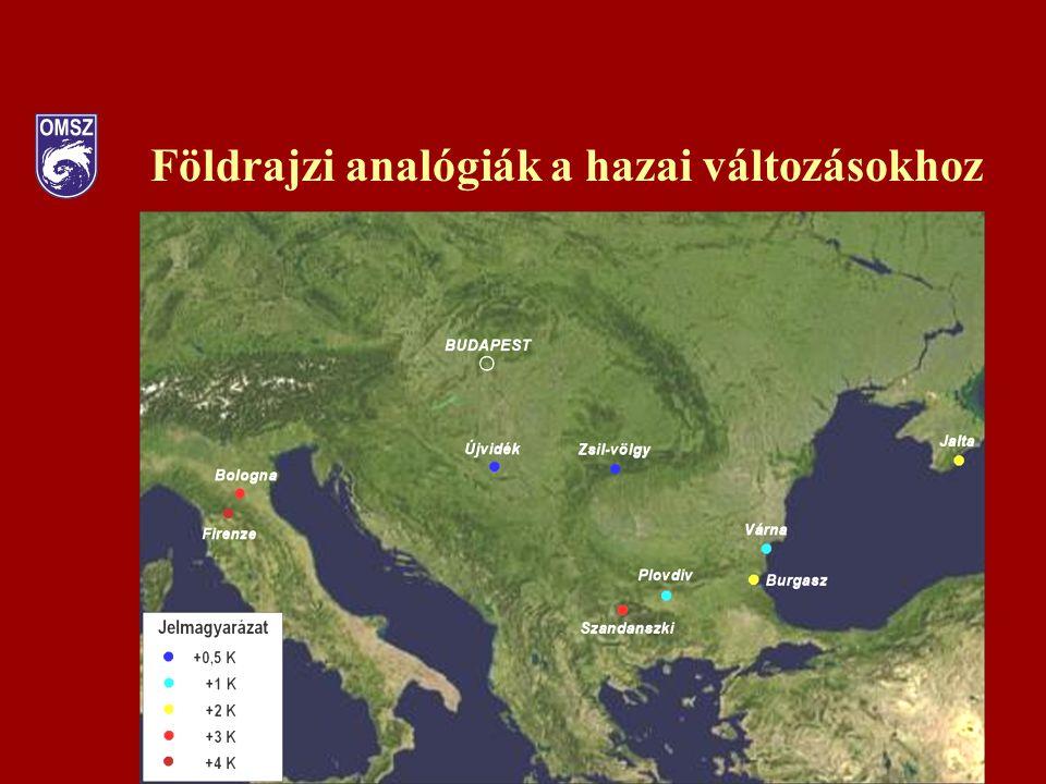Földrajzi analógiák a hazai változásokhoz