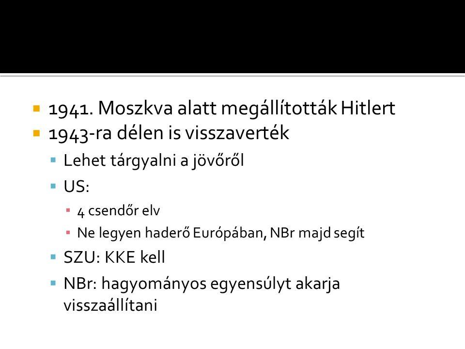 1941. Moszkva alatt megállították Hitlert