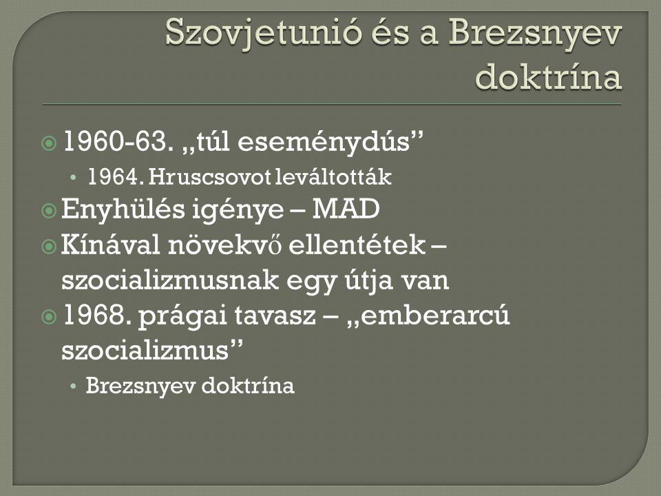 Szovjetunió és a Brezsnyev doktrína