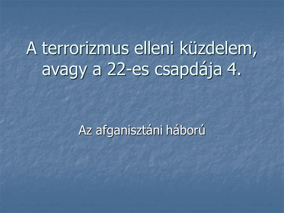 A terrorizmus elleni küzdelem, avagy a 22-es csapdája 4.