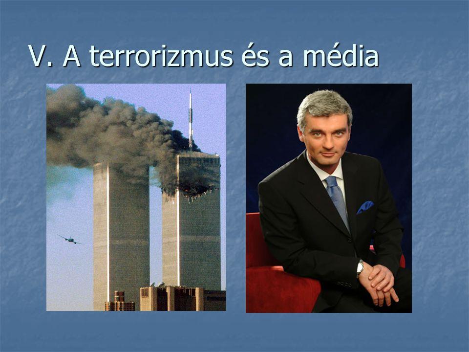 V. A terrorizmus és a média