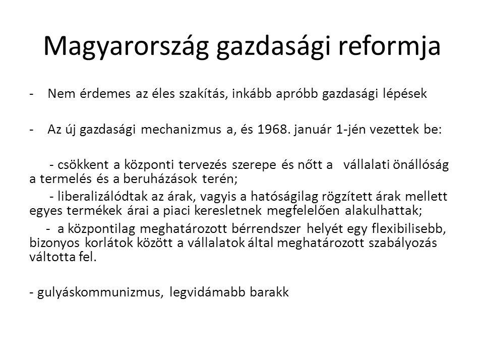 Magyarország gazdasági reformja