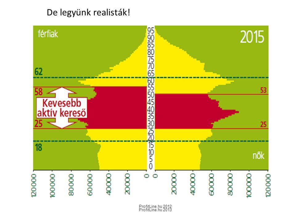 De legyünk realisták! ProfitLine.hu 2013 ProfitLine.hu 2012