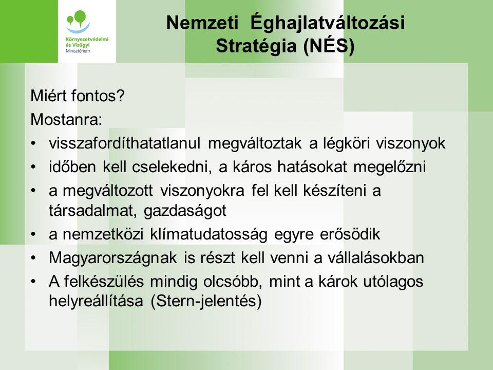 Nemzeti Éghajlatváltozási Stratégia (NÉS)