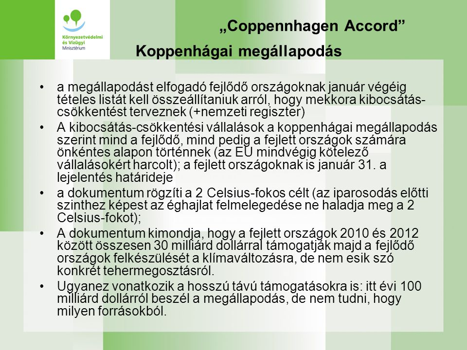 """Coppennhagen Accord"