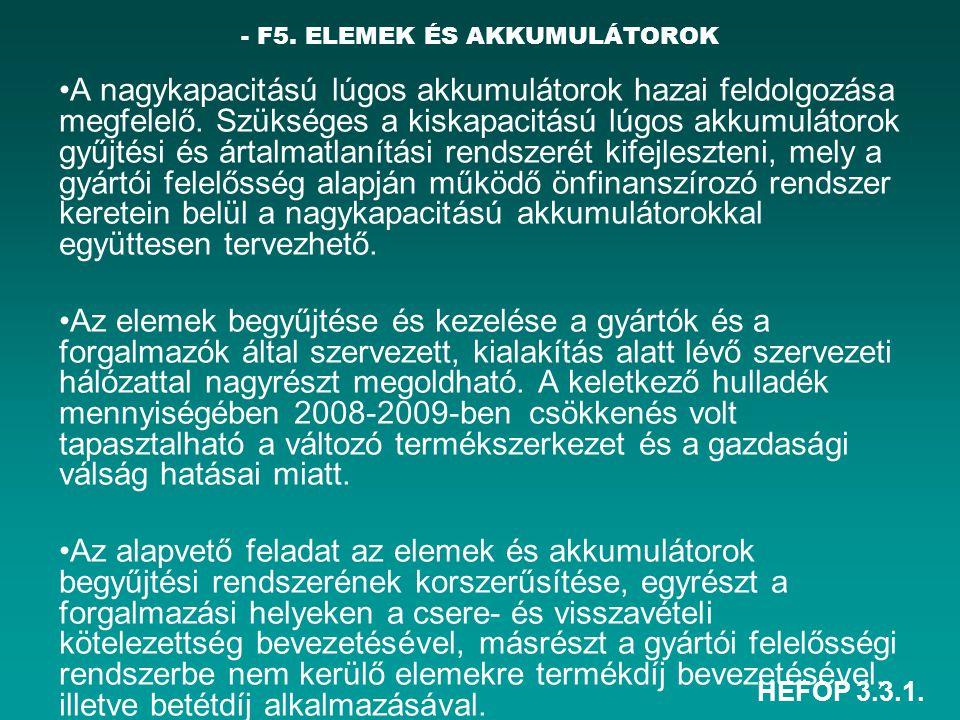 - F5. ELEMEK ÉS AKKUMULÁTOROK