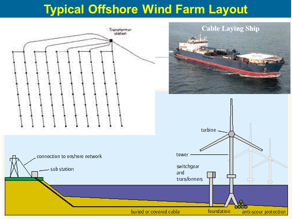 Typical Offshore Wind Farm Layout