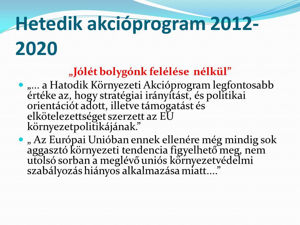 Hetedik akcióprogram 2012-2020