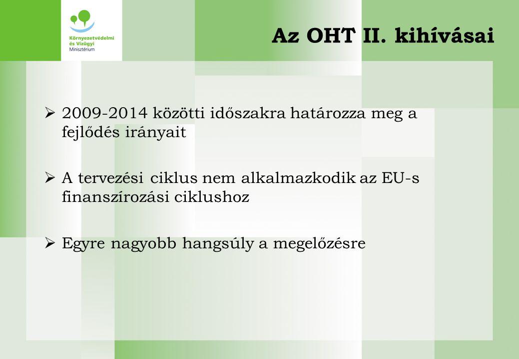 2017.04.04. Az OHT II. kihívásai. 2009-2014 közötti időszakra határozza meg a fejlődés irányait.