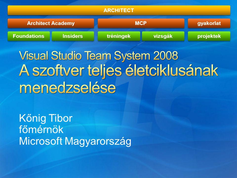 Kőnig Tibor főmérnök Microsoft Magyarország