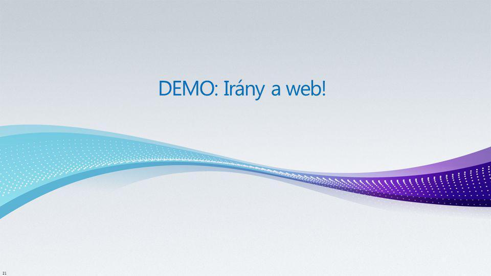 DEMO: Irány a web!