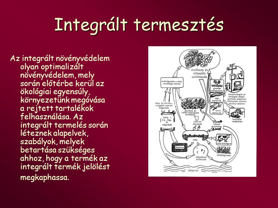 Integrált termesztés