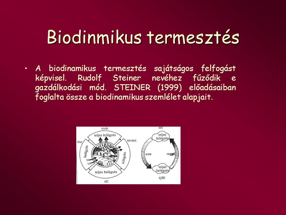 Biodinmikus termesztés