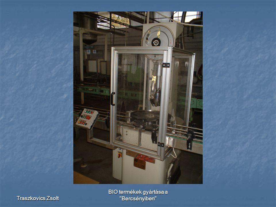 BIO termékek gyártása a Bercsényiben
