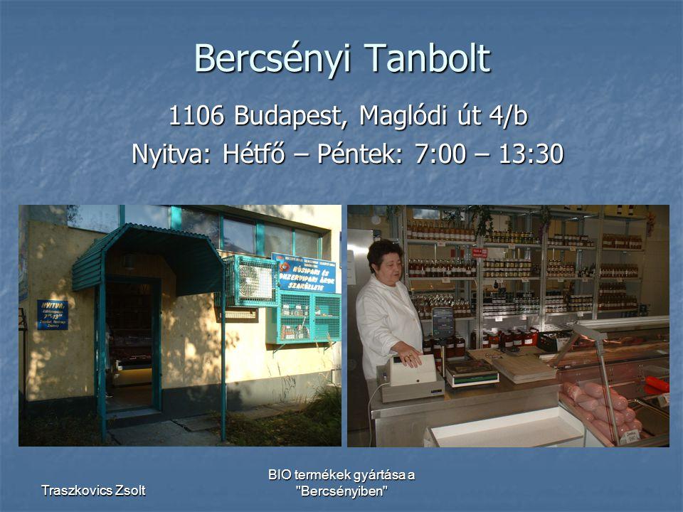 Bercsényi Tanbolt 1106 Budapest, Maglódi út 4/b