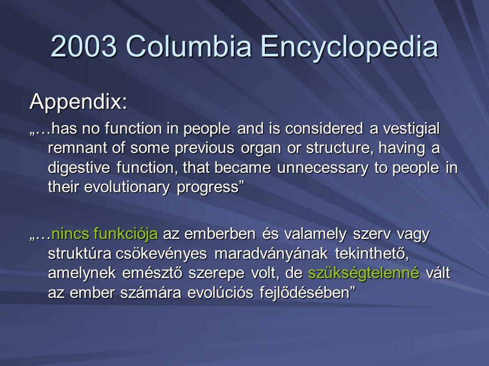 2003 Columbia Encyclopedia