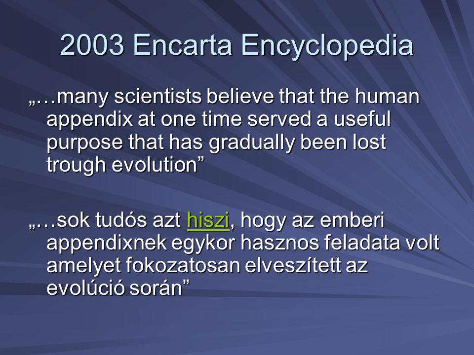 2003 Encarta Encyclopedia