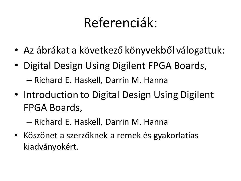 Referenciák: Az ábrákat a következő könyvekből válogattuk: