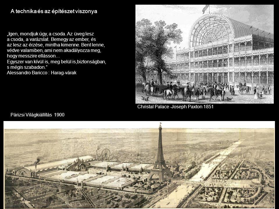 A technika és az építészet viszonya