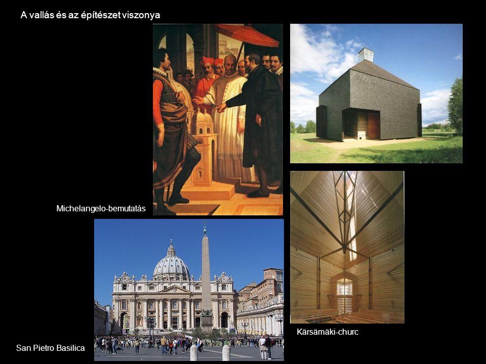 A vallás és az építészet viszonya