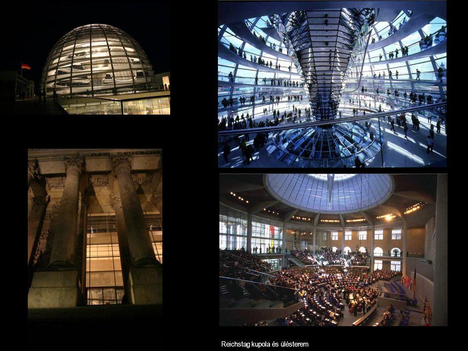 Reichstag kupola és ülésterem